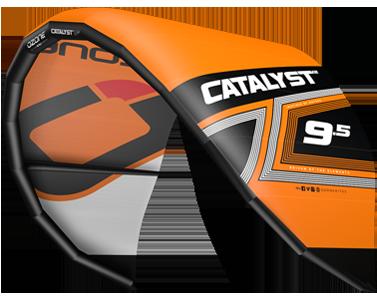 Ozone Catalyst V2 Kitesurfing Kites Orange