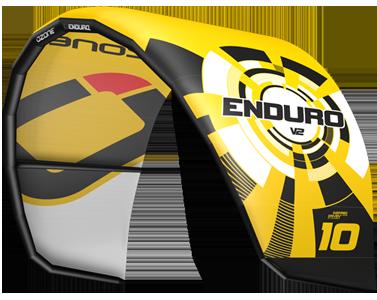 Ozone Enduro V2 Kitesurfing Kites Yellow
