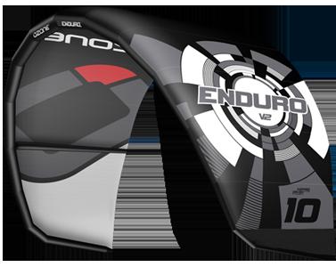 Ozone Enduro V2 Kitesurfing Kites Black