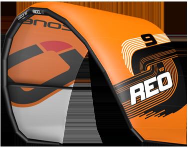 Ozone REO V5 Kitesurfing Kites Orange