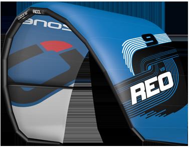 Ozone REO V5 Kitesurfing Kites Blue