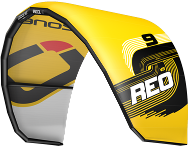 Ozone REO V5 Kitesurfing Kites Yellow
