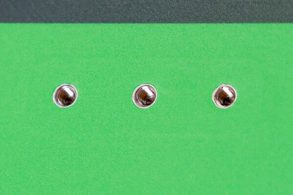 Insertos de acero inoxidable 316 de calidad A